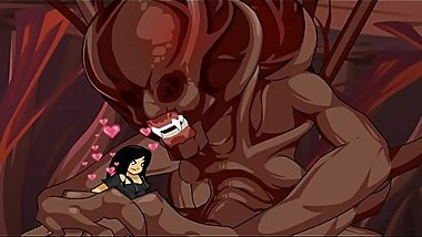 AQW AdventureQuest Worlds Porn Girl Fucked By monster Dick