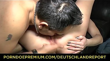 DEUTSCHLAND REPORT -  Steamy pickup and fuck with gorgeous German amateur