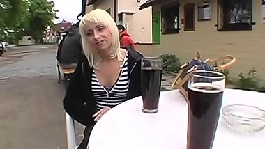 Lascivious dude is persuading hot milf to have hardcore sex