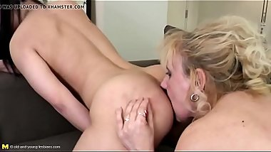 GILF seduce young girl - Full Video on CamBova.com