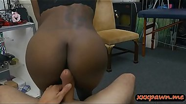 Ebony sells traditional mask and banged