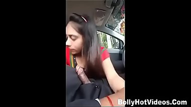 Indian Girl Getting fucked by boyfriend in Car new