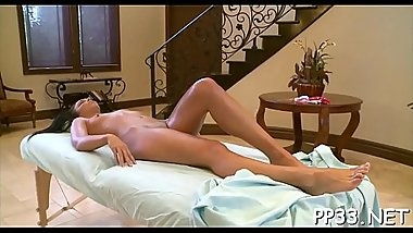 Pleasing playgirl receives zealous pounding in doggystyle sex