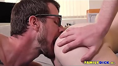 Gay Rimjob And Bigdick Bareback Anal Sex