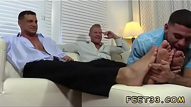 Papa gay homo sex uncle Ricky Worships Johnny &amp_ Joey'_s Feet