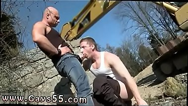 Young boys gay sex outdoors Men At Anal Work!