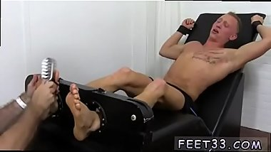 Gay cigar fisting porn Cristian Tickled In The Tickle Chair