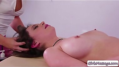 Lovely Quinn in a hot massage fuck