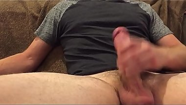 HOME ALONE HUSBAND STROKES THICK COCK