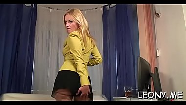 Hardcore fetish scenery with hot young babes in nylons