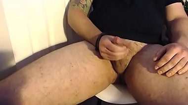 Jerking Off Cumming On Myself