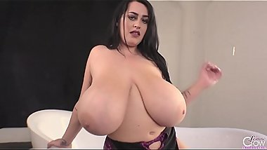 Amazing big boobs Leanne Crow