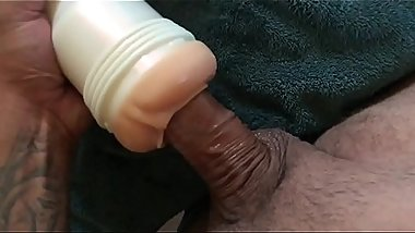 Flesh light masturbation