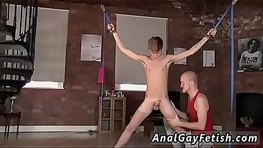Emo gay sex twink bondage Kieron Knight loves to deep-throat the