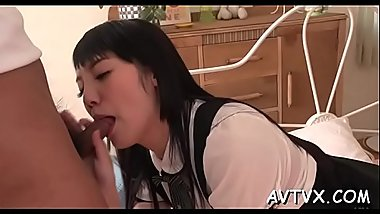 Unfathomable fucking for pleasing asian lass luscious poon tang