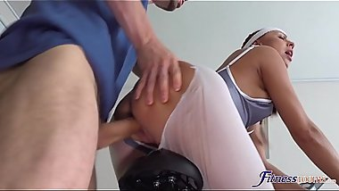 Rough fuck for fine ass Czech babe