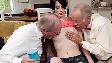 Hot Teen Alex Harper Gets Groped By Old Men