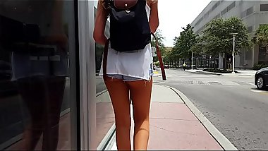 Candid tall teen cheeks hot beauty