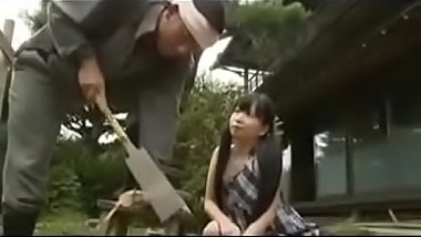 Japanese young wife seduced older carpenter who worked for her - Pt2 On FilfCam.com