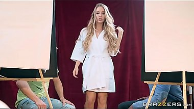 Abstract Sexpressionism Nicole Aniston &amp_ Xander Corvus Brazzers Exxtra at http://bit.ly/brazzersfull