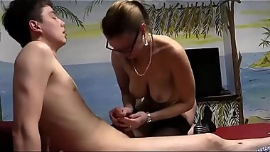 German Mommy Boy Fun