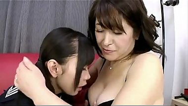 Lick that japanese mommy nipples