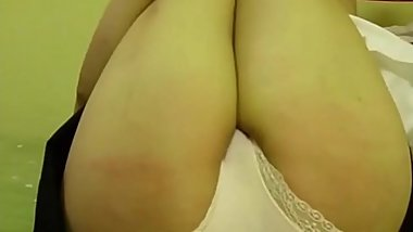 Slut Nana 19 caned in her panties