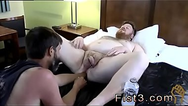 Teen boy gay sex Sky Works Brock&#039_s Hole with his Fist