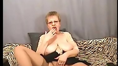 Hot mature granny masturbate on cam - watch more at Chatesy.com