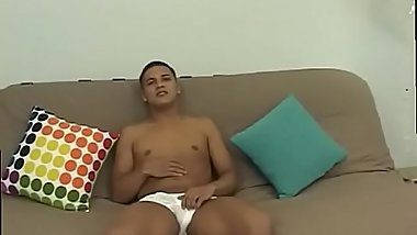 Squirting boy movietures gay Keeping his eyes glued to the tv, he