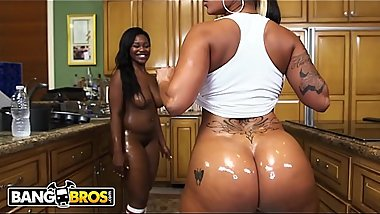 BANGBROS - Prepare To Whack Off Until Your Nuts Explode! It'_s Spicy J and Nina Rotti.