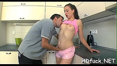 Hot vehement chick shows off her exquisite blowjob skills