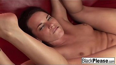 Interracial anal sex with Dana DeArmond and Byron Long