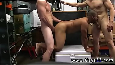 Gay hung cock blowjob after some questioning about his alleged