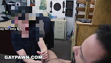 GAY PAWN - This Guy Is Down On His Luck, Just Got Fired &amp_ Needs Money Fast
